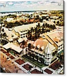 Key West Morning Acrylic Print by Alice Gipson