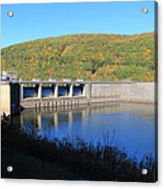Kinzua Dam Acrylic Print by Rick Morgan