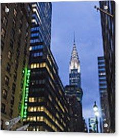 Lexington Avenue, Chrysler Building, New York  Acrylic Print by Juergen Held