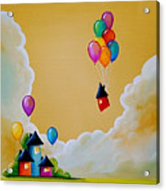 Life Of The Party Acrylic Print