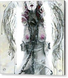 Lilith Acrylic Print by Matthew Mezo
