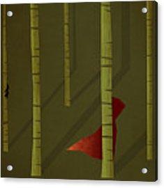 Little Red Riding Hood Acrylic Print by Christian Jackson