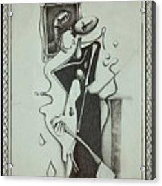 Lizzie Borden Acrylic Print by Delight Worthyn