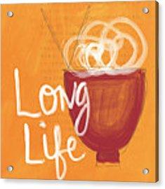 Long Life Noodle Bowl Acrylic Print