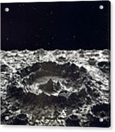 Lunar Crater, 1874.  Acrylic Print by Granger