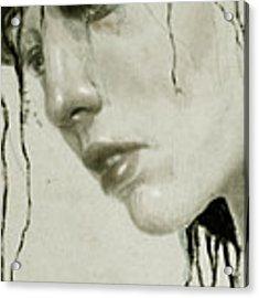 Melancholic Acrylic Print by Diego Fernandez