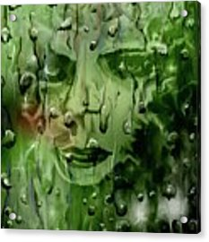Memory In The Rain Acrylic Print by Darren Cannell