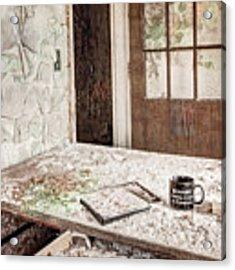Midlife Crisis In Progress - Abandoned Asylum Acrylic Print by Gary Heller