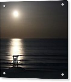Moonlit Acrylic Print by Ben Shields