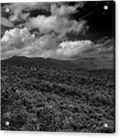 Mount Greylock In Black And White Acrylic Print by Raymond Salani III