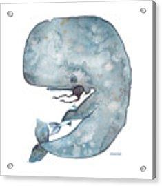 My Whale Acrylic Print