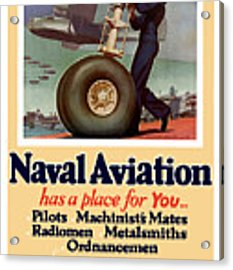 Naval Aviation Has A Place For You Acrylic Print
