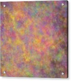 Nebula Acrylic Print by Writermore Arts