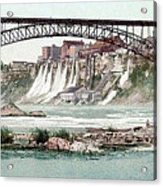 Niagara River, C1900.  Acrylic Print by Granger