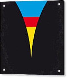 No086 My Superman Minimal Movie Poster Acrylic Print