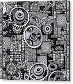 Nuts And Bolts Acrylic Print by Eleni Mac Synodinos