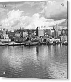 Old Seattle 1949 Acrylic Print by USACE-Public Domain