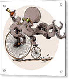 Otto's Sweet Ride Acrylic Print
