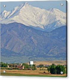 Over The Mountains Acrylic Print by Scott Mahon