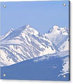 Over The Rockies Acrylic Print by Scott Mahon