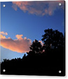 Painted Clouds Acrylic Print by Shane Bechler