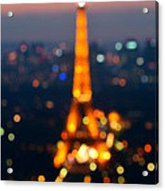 Paris  Acrylic Print by Songquan Deng