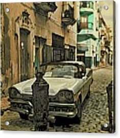 Parked Acrylic Print by Alice Gipson