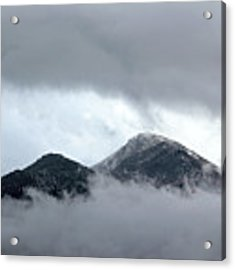 Peaking Through The Clouds Acrylic Print by Shane Bechler