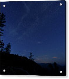 Perseids Meteor Shower 1 Acrylic Print by Jim Thompson