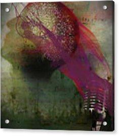 Pink Song Acrylic Print by Richard Ricci