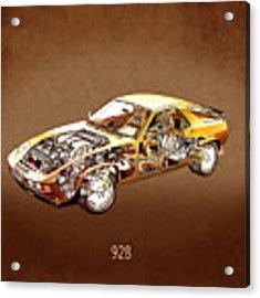 Porsche 928 1980 Acrylic Print