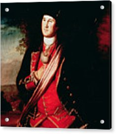 Portrait Of George Washington Acrylic Print by Charles Willson Peale