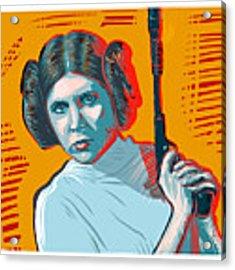 Princess Leia Acrylic Print by Antonio Romero