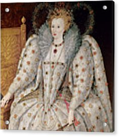 Queen Elizabeth I Of England And Ireland Acrylic Print by Anonymous