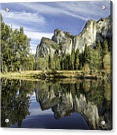 Reflecting On Yosemite Acrylic Print by Chris Cousins