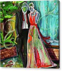 Romance Each Other Acrylic Print by TM Gand