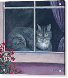 Room With A View Acrylic Print by Kathryn Riley Parker