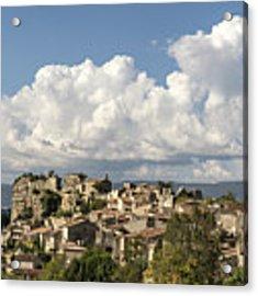 Saignon Village Provence  Acrylic Print by Juergen Held