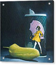Salt And Pepper Acrylic Print by Joe Winkler