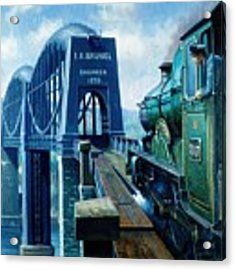 Saltash Bridge. Acrylic Print