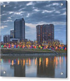 Scioto Morning 3567 Acrylic Print by Brian Gryphon