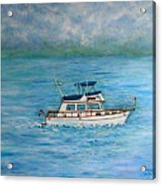 Seascape Acrylic Print by Lynn Buettner