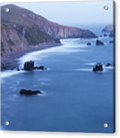 Sonoma Coastline After Dark Acrylic Print by Jim Thompson