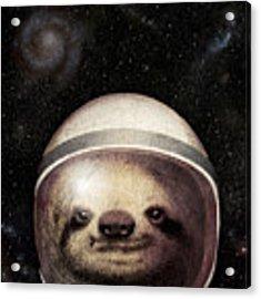 Space Sloth Acrylic Print