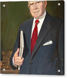 Speakers Of The United States House Of Representatives, Jim Wright, Texas Acrylic Print by Celestial Images