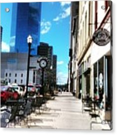 Spring Day In Downtown Lexington, Ky Acrylic Print by Rachel Maynard
