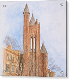 State Street Church Acrylic Print by Dominic White