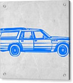 Station Wagon Acrylic Print