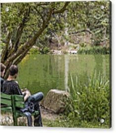 Stow Lake Acrylic Print by Kate Brown