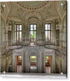 Stucco Villa - Villa Degli Stucchi I Acrylic Print by Enrico Pelos